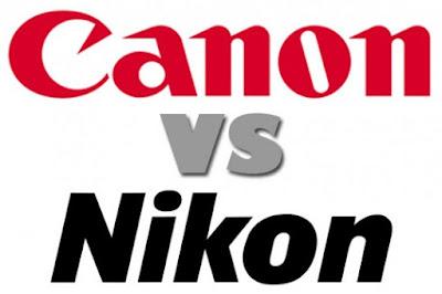merek kamera digital canon dan nikon