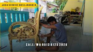 Biaya / Harga Service Kursi Sofa di UJUNG MENTENG Jakarta Timur,
