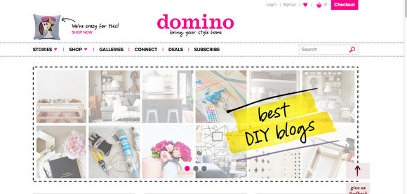 DIY Playbook is featured on Domino.com as one of the best blogs in DIY.