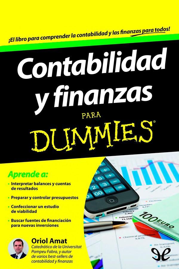 Contabilidad Y Finanzas Para Dummies Pdf
