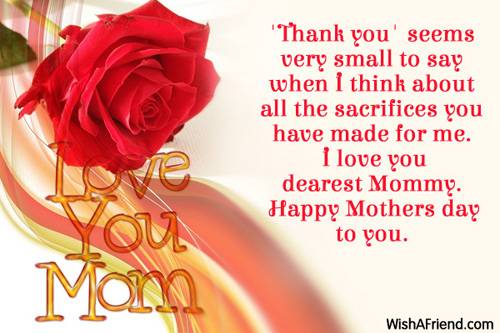 Happy Mothers Day 2016 Greetings Card Messages for mom