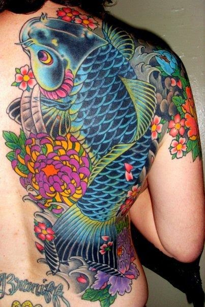 koi a fish tattoo trust