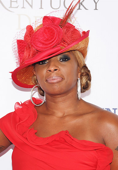 Mary J At The Derby
