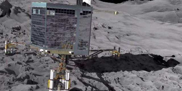 Rosetta, a sonda espacial ou a crónica de uma morte anunciada depois de uma vida muito produtiva.