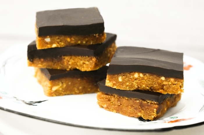 Easy Vegan Peanut Butter Bars
