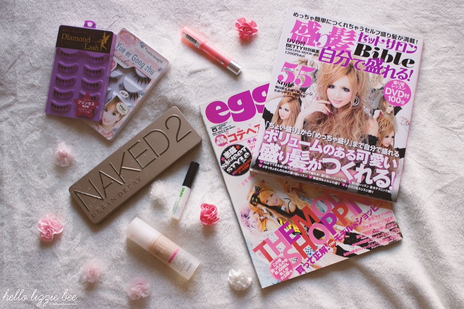gyaru makeup, sensitive skin