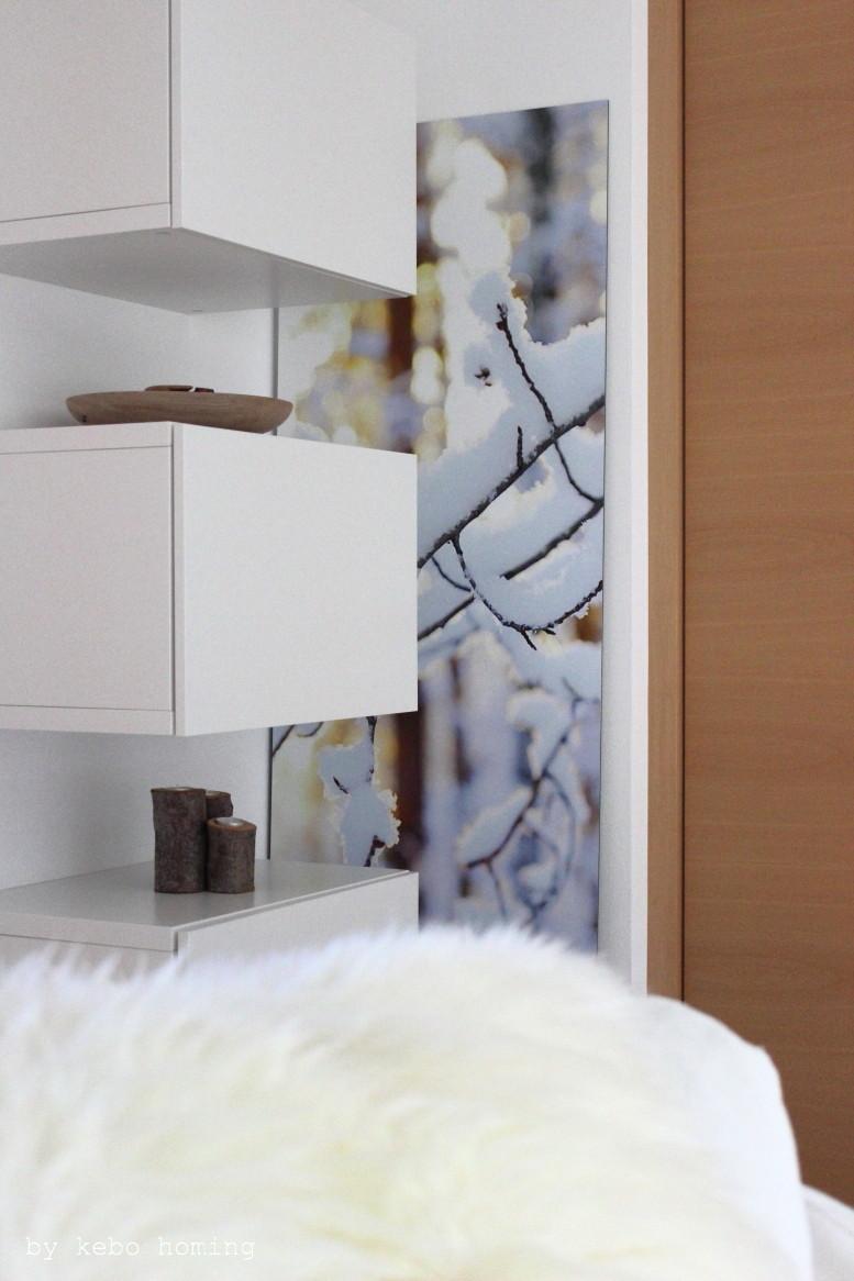Winterdekoration mit Naturmaterialien und Schneelandschaft auf dem Südtiroler Food- und Lifestyleblog kebo homing, Deko, Decoration, Inspiration, winterwonderland