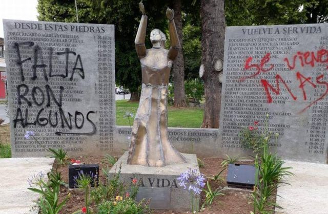 Corporación Pilmaiquén repudia atentado a Memorial en Osorno