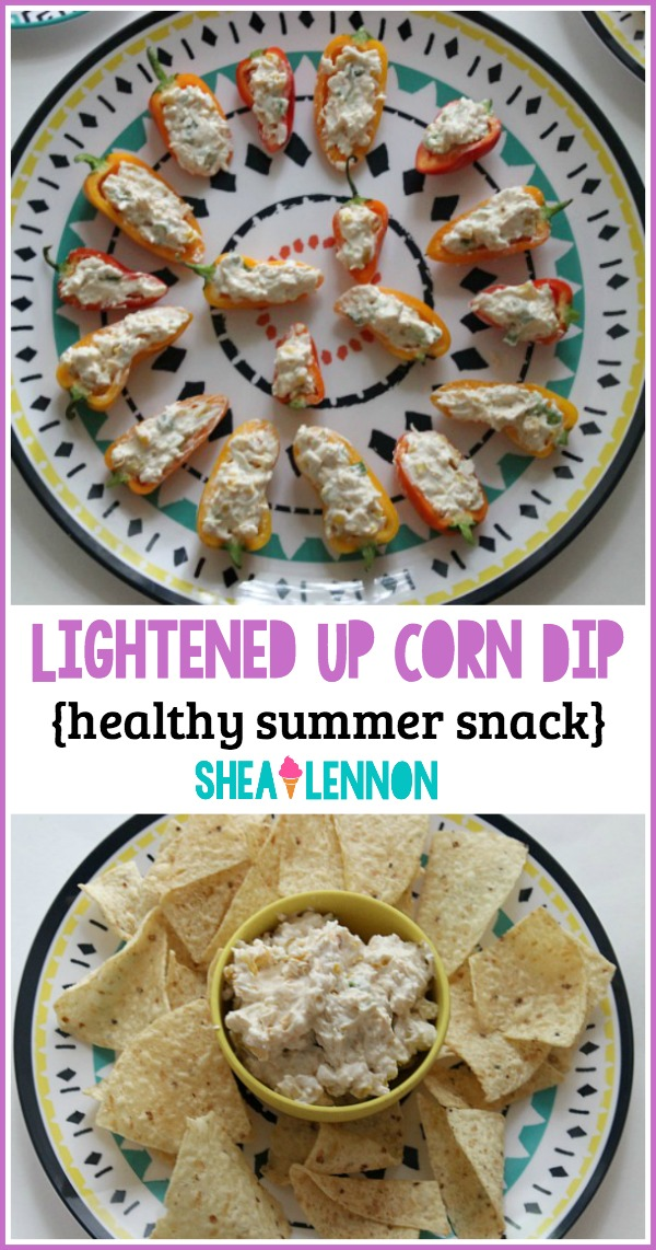 Need a snack to bring to a summer barbecue but want a healthier option? Try this lightened up corn dip recipe that's quick and easy to make, and just as delicious as the classic version. Watch out, it's addictive! Click through for the recipe and also details on how to win a summer tailgating package!
