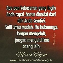 Dp Nasehat Mario Teguh