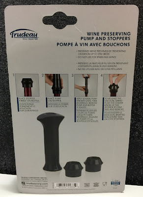 wine stopper and pump set