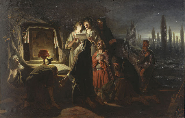 'First Christians in Kiev' by Vasily Perov