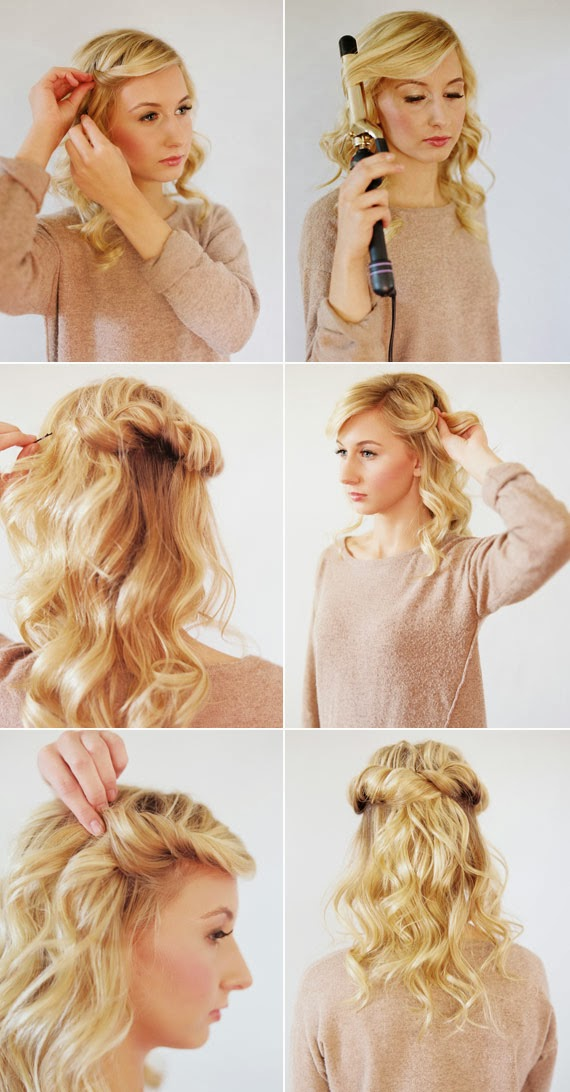Coiffure Facile A Faire Cheveux Mi Long Ivory Hairstyle