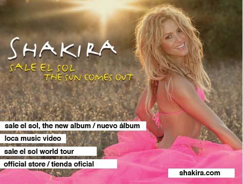 Entradas para el concierto de Shakira en Madrid