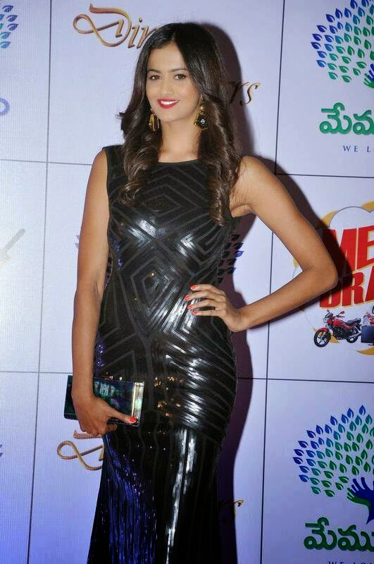 Shubra Ayyappa Stills, Shubra Aiyappa hot Pics in Black Tight Dress - Indian Kim Kardashian