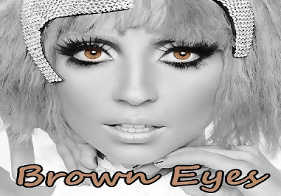 Brown Eyes - Lady Gaga Lyrics Official