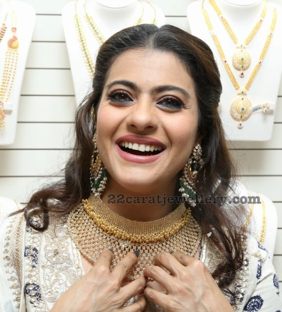 Kajol Heavy Chandbalis and Choker