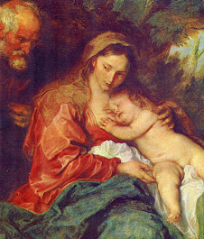 Rubens, Madonna with child