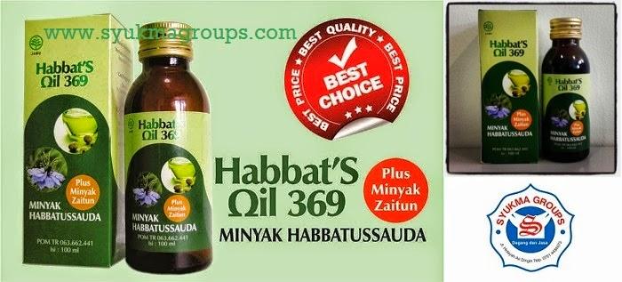 Habbats Oil 369 Plus Minyak Zaitun