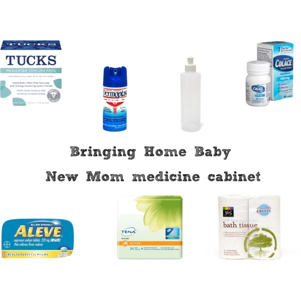 Bringing Home Baby: New Mom medicine cabinet