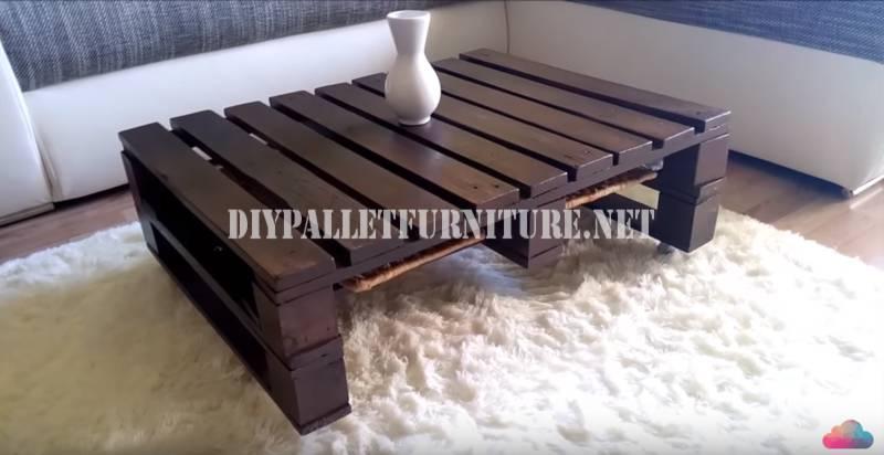 aqu tenis este video tutorial paso por paso para construir una mesita para vuestro saln si os ha gustado esta mesa hecha con palets por favor comparte