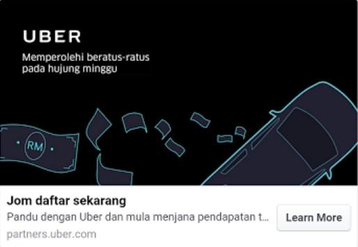 Cara Daftar Jadi Pemandu UBER