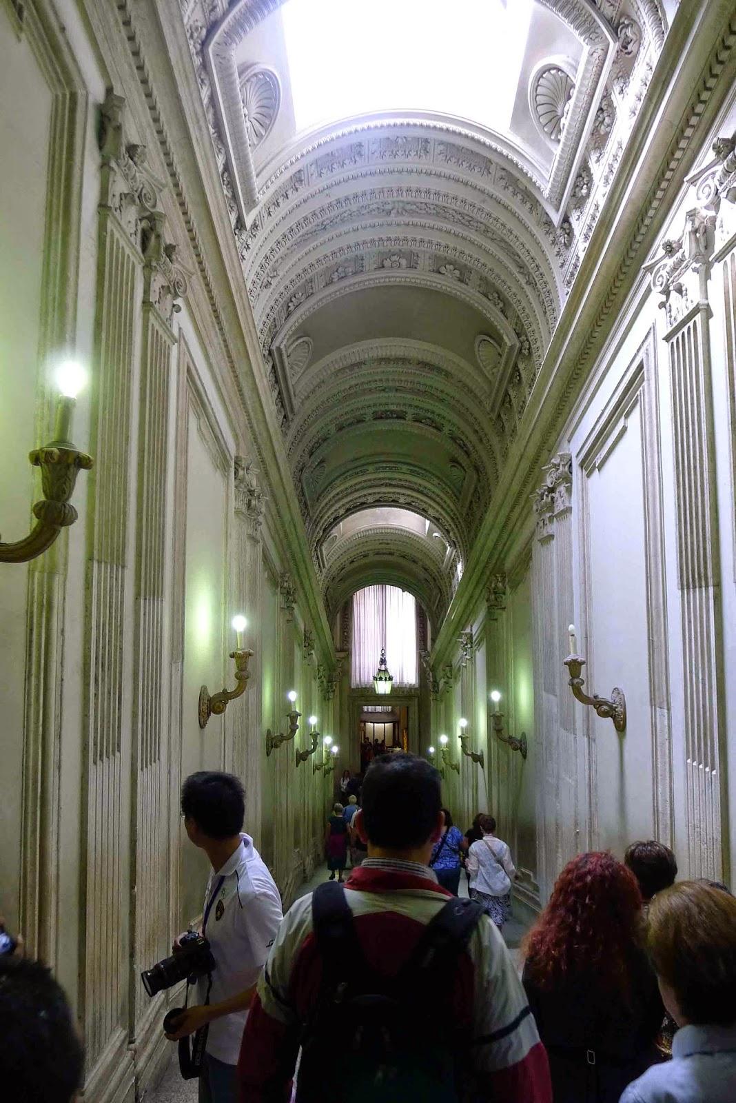 Hallway to Sistine Chapel