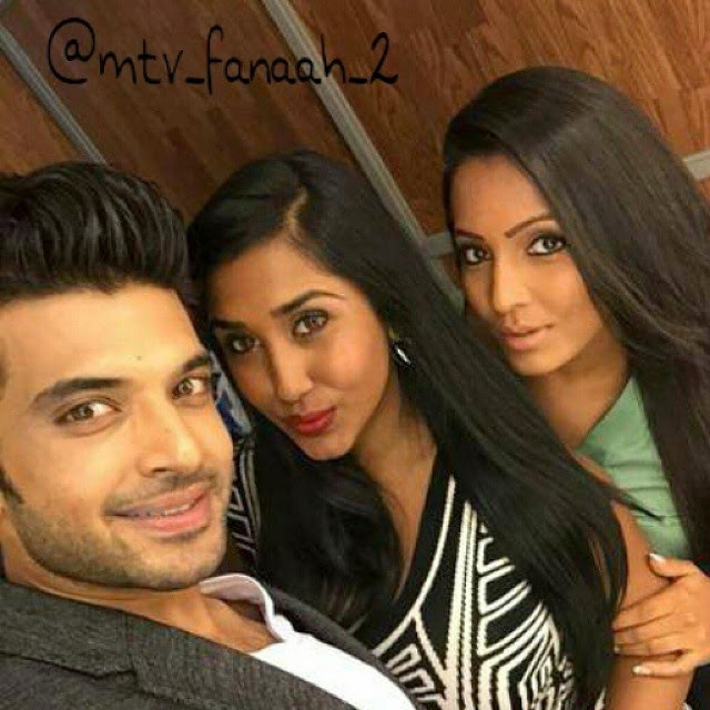our selfie champs are back..... here is our stars karan kundra with scarlett rose & meghna naidu on the sets of mtv fanaah season 2 follow me , follow me , follow me , karan kundra , scarlett rose , meghna naidu ,  fan a ah ,season2 follow now forst official page of fan a ah , ..., Hot HD Pics of Meghna Naidu From Real Life