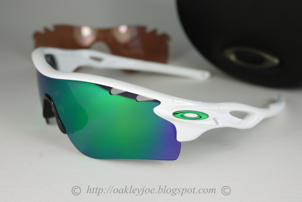 22a1f5d09fd99 real oakley radar path sunglasses 26 268 polished black frame w jade iridium  lens 7923b 2ab2e  denmark oakley radar jade iridium review e0324 3fea6