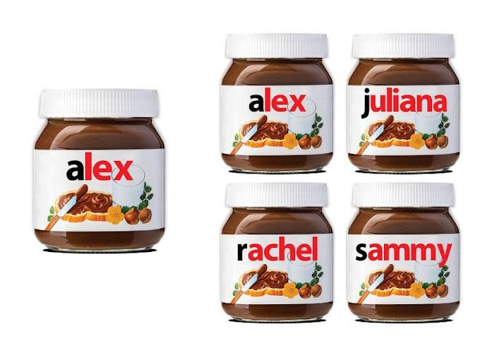 【甜蜜驚喜】太古廣場 x Nutella 榛子醬 首度在港送上「 Take it Personally 」
