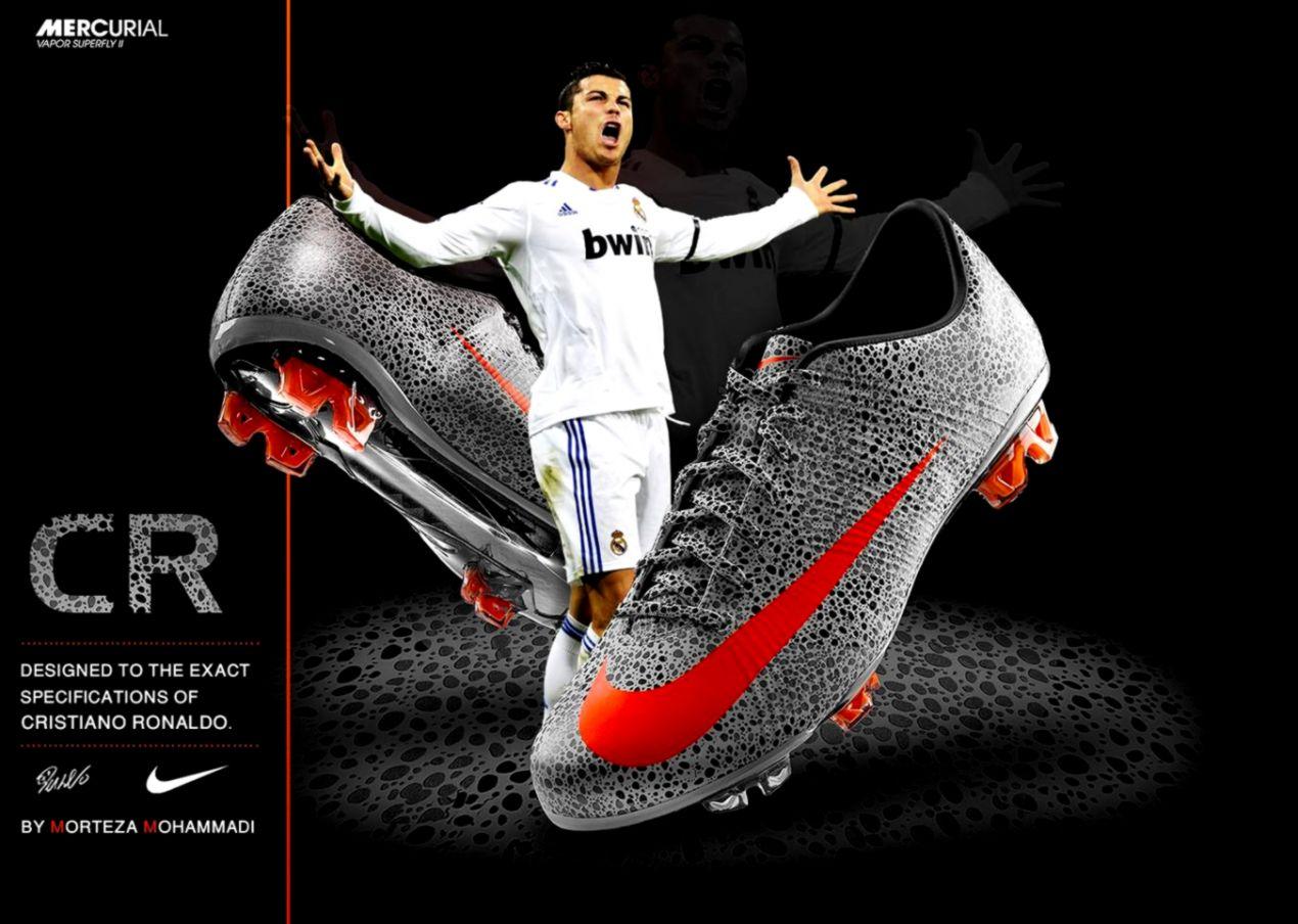 6f69935ff18 Cristiano Ronaldo Soccer Nike Wallpaper | Dom Wallpapers