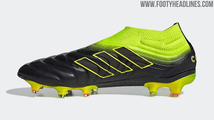 Schwarz Gelbe Adidas Copa 19+