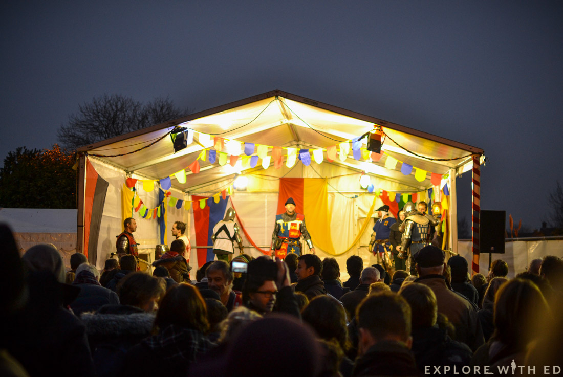 Ludlow Medieval Christmas Fayre, Theatre, Show