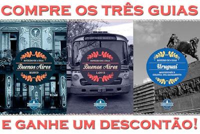 Guias Básico e Lado B Buenos Aires + Guia Uruguai