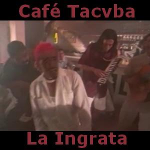 letra y acordes de guitarra y piano Cafe Tacuba