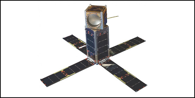 The Micro-sized Microwave Atmospheric Satellite-2 (MicroMAS-2). Credit: MIT Lincoln Laboratory
