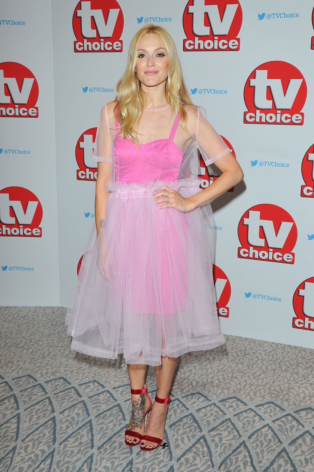 HQ Photos Fearne Cotton At TV Choice Awards In London