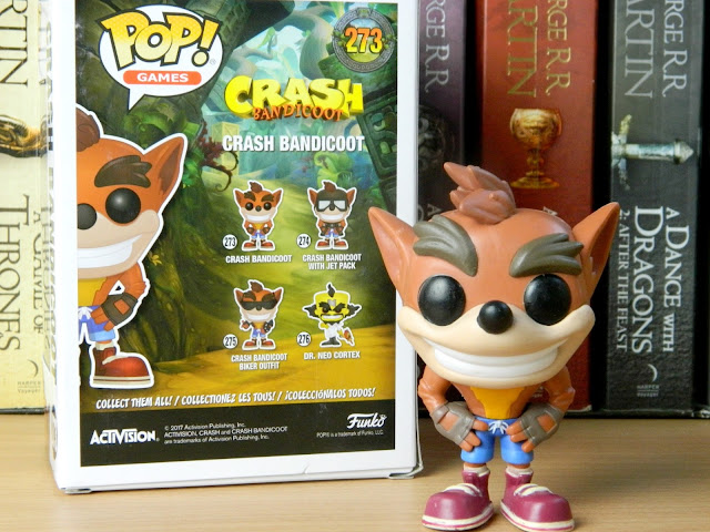 Crash Bandicoot Games Pop Vinyl Funko