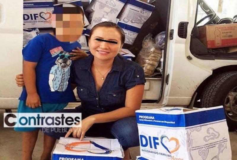 Detienen a esposa de alcalde de Puebla por robarse combustible