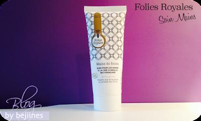 Folies Royales : Soins cosmétiques Bio Visage