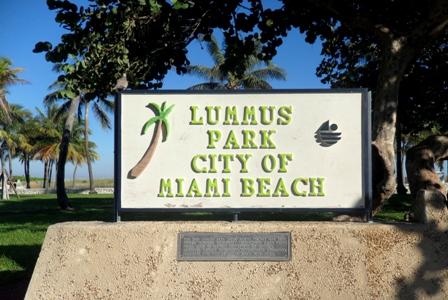 Lummus Park em Miami Beach