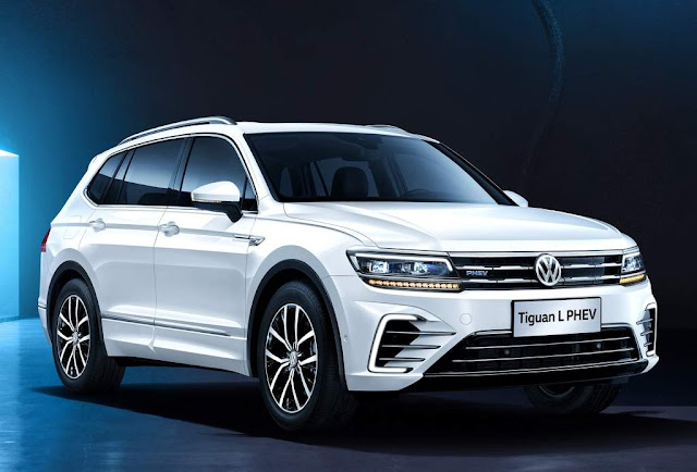 Volkswagen Tiguan L PHEV híbrida