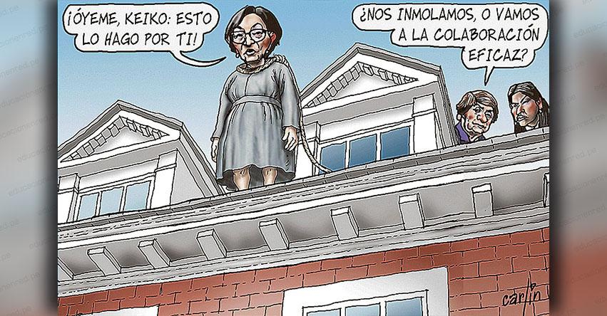 Carlincaturas Lunes 5 Noviembre 2018 - La República