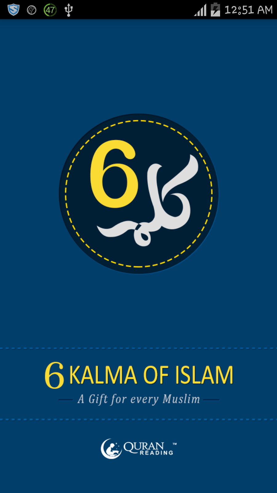 6 Kalimas of Islam Android App Free Download