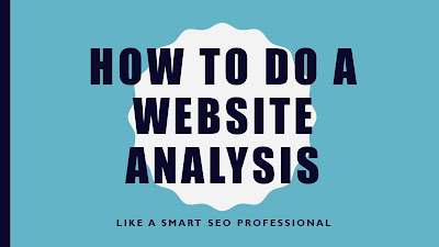 website analysis or seo audit guide