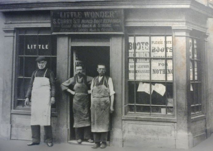 """Little Wonder"" Curry's shoe makers and repairers"