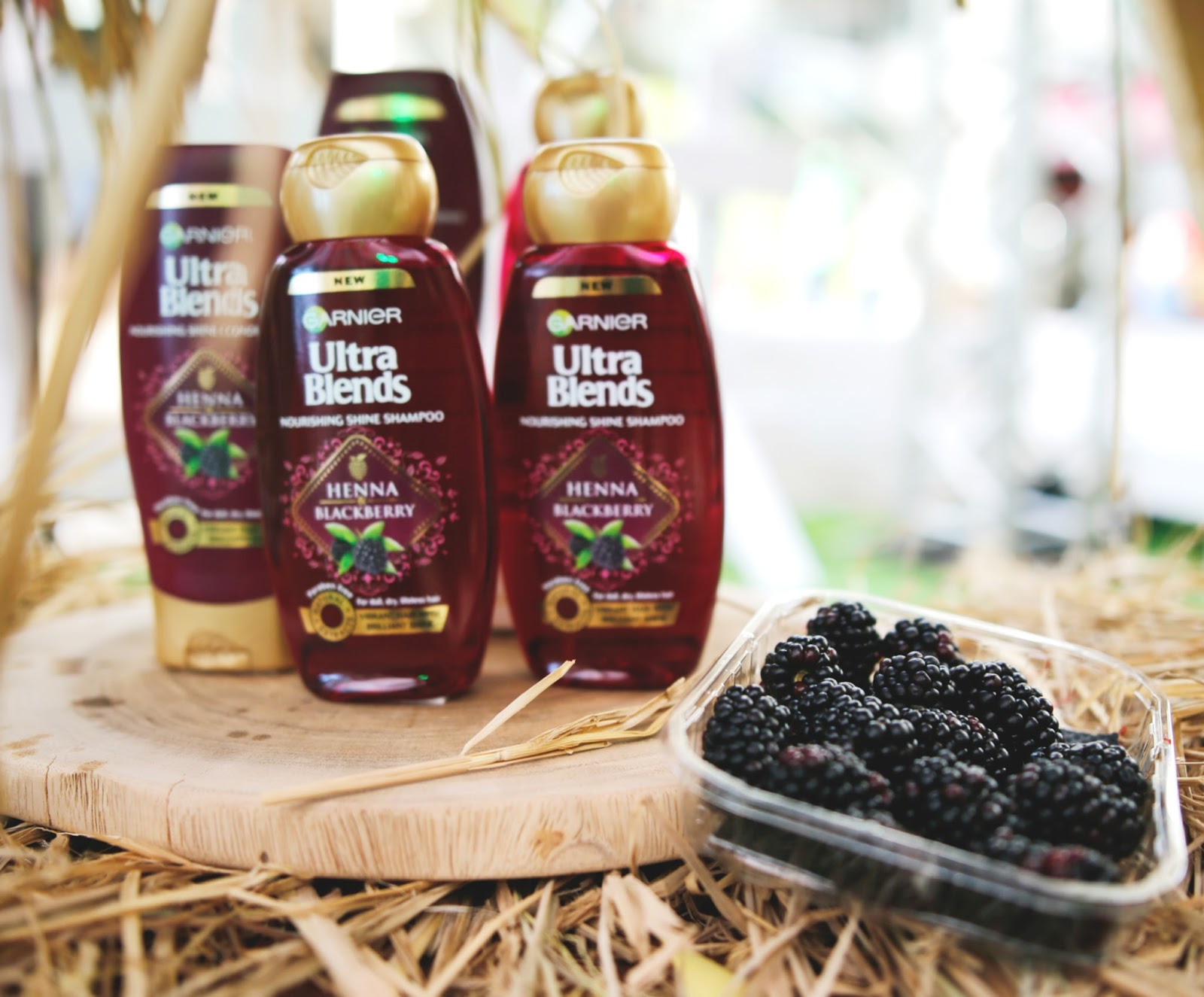 Garnier Ultra Blends henna and blackberry Shampoo Review