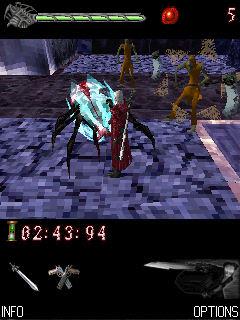 Devil May Cry 3D game ponsel Java jar