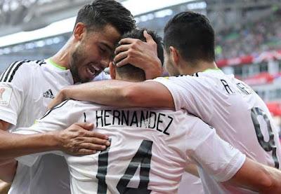 Hasil Akhir Portugal 2 - 2 Meksiko