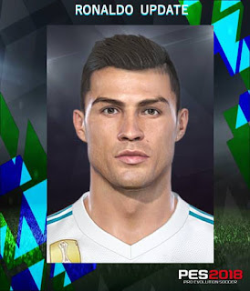 PES 2018 Faces by Messipradeep ( C. Ronaldo v2 )